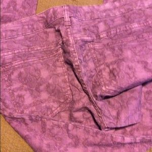 Free People Pants - Free People Purple Pants